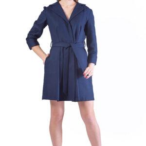 rochie birou casual bleumarin